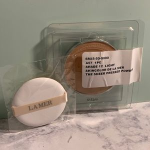 BN Sealed La Mer Sheer Pressed Powder 12 Light